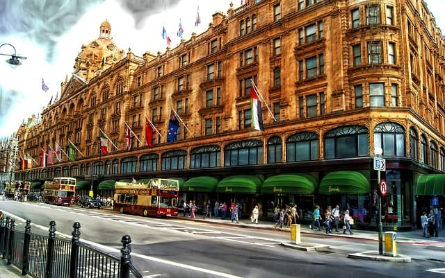boutique Harrod's à Londres
